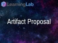 Lesson Idea: Artifact Proposal