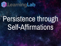 Lesson Idea: Persistence Through Self-Affirmation