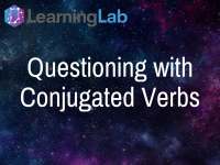 Questioning with Conjugated Verbs