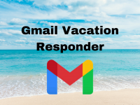 Setting up a Vacation Responder in Gmail