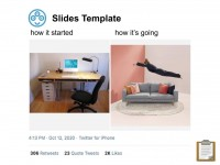How it Started, How it's Going - Google Slides Template