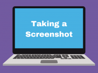 Taking a Screenshot