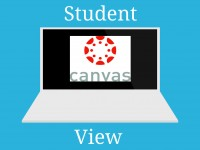Canvas Student View