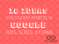 16 Ideas for Student Projects in Google