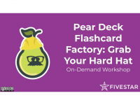 Pear Deck Flashcard Factory: Grab Your Hard Hat