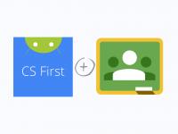 CS First & Google Classroom