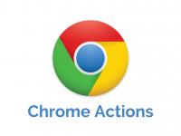 Google Chrome Actions