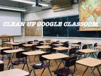Archive/ Delete Google Classroom Classes