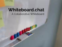 Whiteboard.chat: A Demo