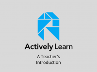 A Teacher's Introduction to Actively Learn