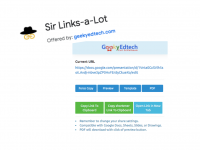 Sir Links-a-Lot | Chrome Extension