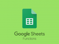 Google Sheets: Functions