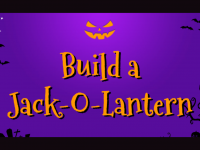 Build a Jack-O-Lantern with Slides and Mote