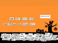 Halloween Magnetic Poetry