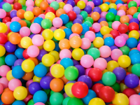 Bouncy Balls for Volume Moderation