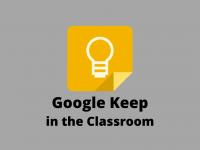 Google Keep in the Classroom