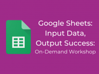 Google Sheets: Input Data, Output Success
