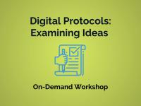Digital Protocols: Examining Ideas