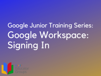 Google Workspace: Signing In