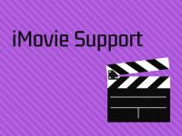 iMovie Support