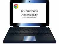 Chromebook Accessibility: On-Screen Keyboard