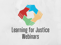 Learning for Justice: Professional Development Webinars
