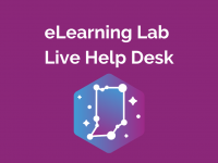 eLearning Lab: Help Desk