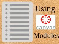 Canvas Modules