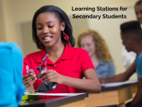 Learning Stations for Secondary Students