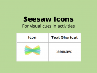 Seesaw Icons