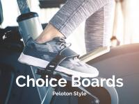 Choice Boards: Peloton Style