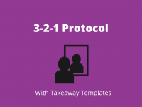 3-2-1 Reflection Protocol with Takeaway Templates