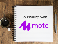 Audio Journaling with mote