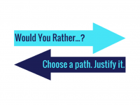 Would You Rather...? Math Resources