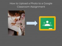 How to Upload a Photo to a Google Classroom Assignment
