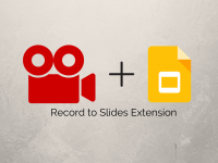 Record to Slides Extension