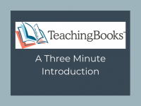 TeachingBooks - Video Introduction