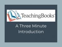 TeachingBooks - Video Introduction
