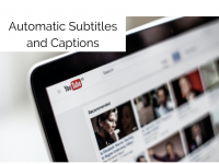Automatic Subtitles and Captions for YouTube Videos