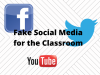 Fake Social Media for the Classroom