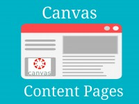 Canvas Content Pages