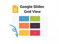 Google Slides Grid View